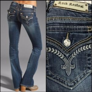 Rock Revival Boot Cut Jeans Tullia